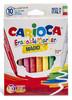 Фломастеры Carioca MAGIC 41238 стираемые 9цв. +стиратель коробка с европодвесом вид 1