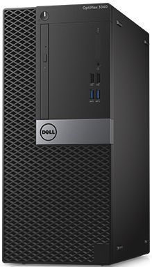 Компьютер  DELL Optiplex 3046,  Intel  Core i3  6100,  DDR4 4Гб, 500Гб,  Intel HD Graphics 530,  DVD-RW,  Windows 7 Professional,  черный и серебристый [3046-3348]