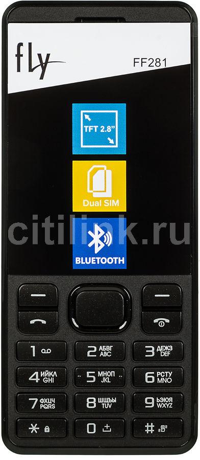 Мобильный телефон FLY FF281  белый