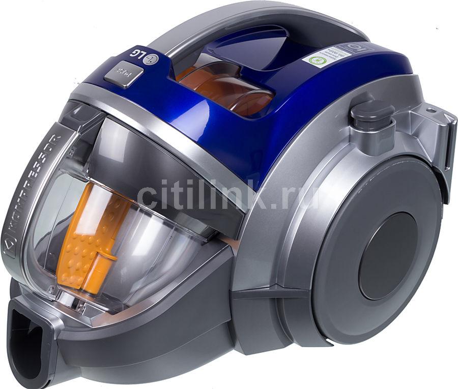 Пылесос LG VK89601HQ, 2000Вт, синий/серебристый