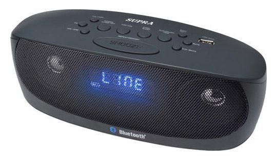 Аудиомагнитола SUPRA BB-M101UB,  черный