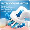 Электрическая зубная щетка ORAL-B в подарочной упаковке PRO 1100 Cross Action белый [81606325] вид 6