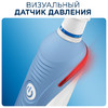 Электрическая зубная щетка ORAL-B в подарочной упаковке PRO 1100 Cross Action белый [81606325] вид 8
