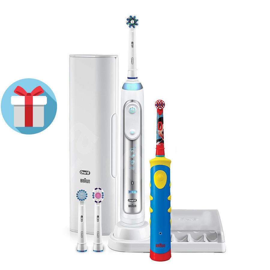 Набор электрических зубных щеток ORAL-B Genius 8200 белый [81606316]