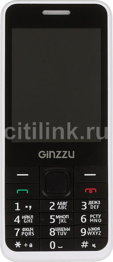 Мобильный телефон GINZZU m108d,  белый