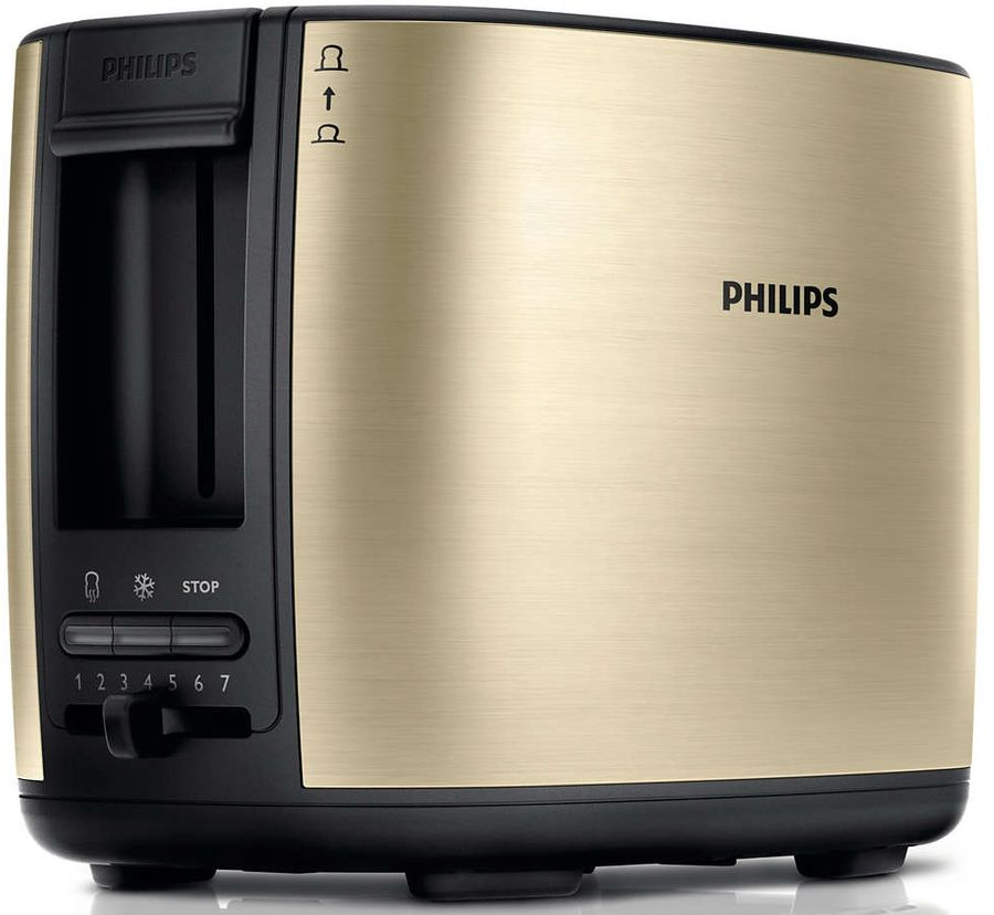 Тостер PHILIPS HD2628/50,  шампань