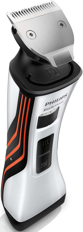 Триммер PHILIPS QS6141/32, серебристый/черный philips стайлер philips hp8605 00 simplysalon curl