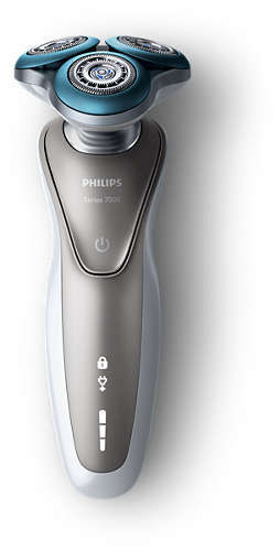Электробритва PHILIPS Series 7000 S7510/41, серебристый philips мультиварка 5 л philips hd4734
