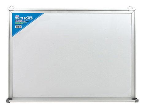 Демонстрационная доска Deli E7817 магнитно-маркерная лак 90x120см белый лоток для аксессуаров с аксе