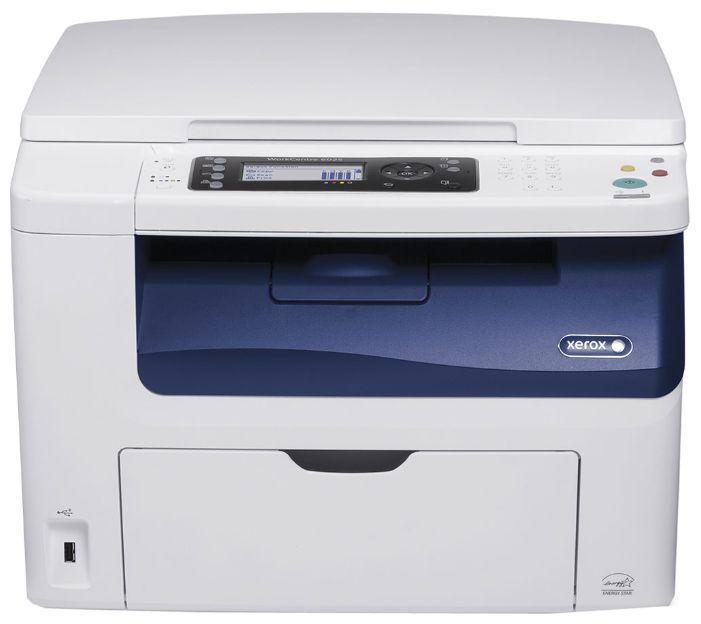 МФУ лазерный XEROX WorkCentre 6025,  A4,  цветной,  светодиодный,  белый [wc6025bi]