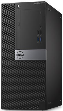 Компьютер  DELL Optiplex 3046,  Intel  Pentium  G4400,  DDR4 4Гб, 500Гб,  Intel HD Graphics 510,  DVD-RW,  Windows 7 Professional,  черный и серебристый [3046-0124]