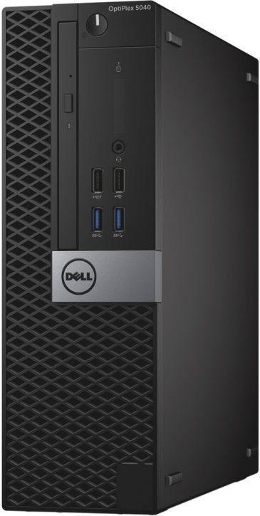 Компьютер  DELL Optiplex 5040,  Intel  Core i5  6500,  DDR3L 8Гб, 256Гб(SSD),  Intel HD Graphics 530,  DVD-RW,  Windows 7 Professional,  черный и серый [5040-0019]