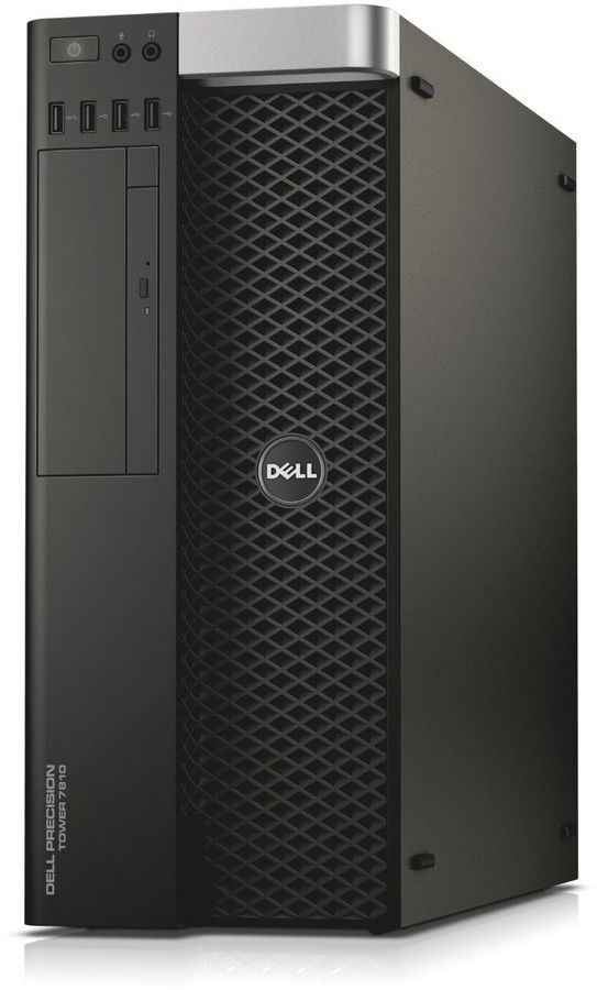Рабочая станция  DELL Precision T7810,  Intel  Xeon  E5-2620 v4,  DDR4 32Гб, 1000Гб,  256Гб(SSD),  2 х nVIDIA Quadro M4000 - 8192 Мб,  DVD-RW,  Windows 7 Professional,  черный [7810-0293]