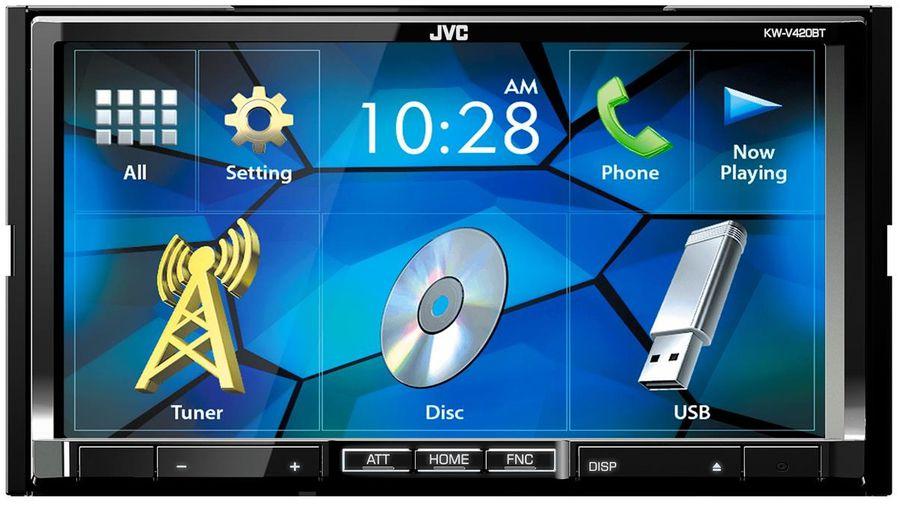 Автомагнитола JVC KW-V420BT,  USB