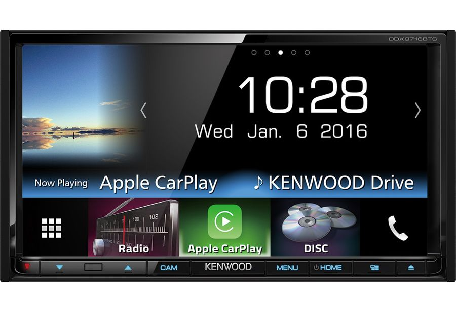 Автомагнитола KENWOOD DDX9716BTSR,  USB
