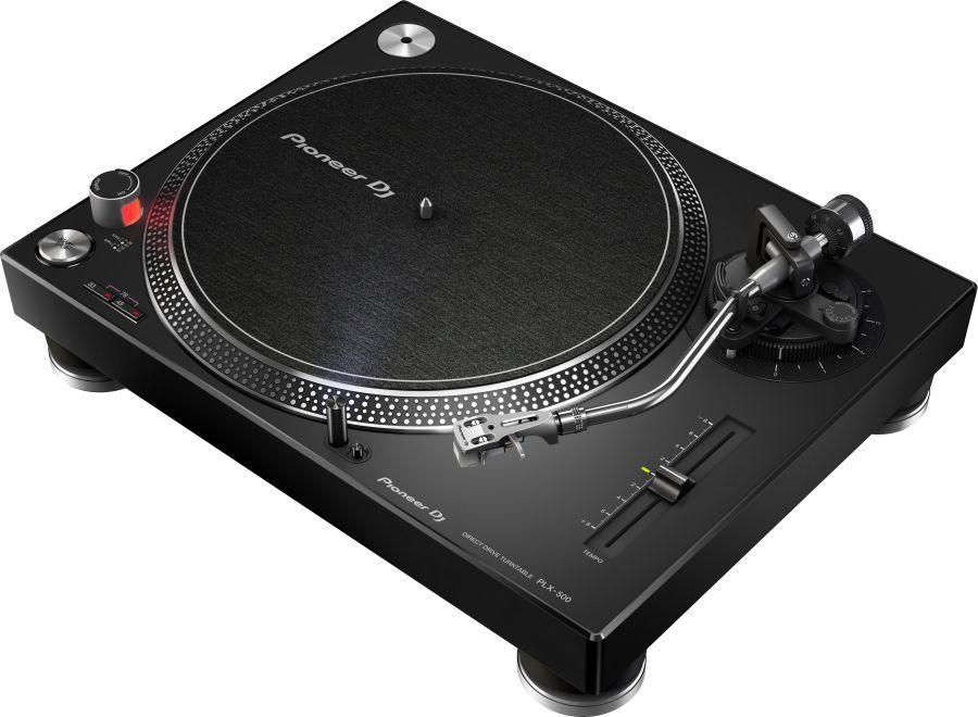 Проигрыватель винила Pioneer PLX-500-K ручной черный