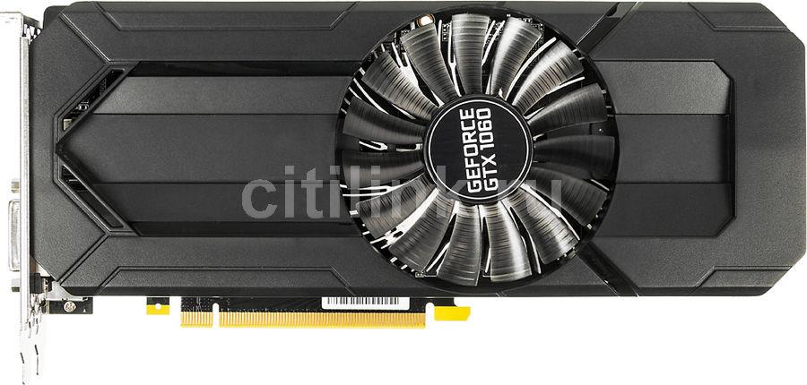Видеокарта PALIT nVidia  GeForce GTX 1060 ,  PA-GTX1060 STORMX 6G,  6Гб, GDDR5, Ret [ne51060015j9-1061f]