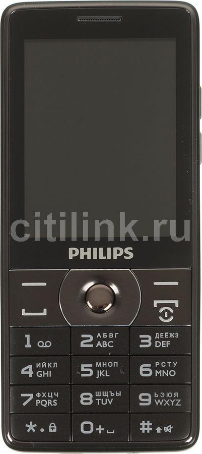 Мобильный телефон PHILIPS Xenium E570,  серый