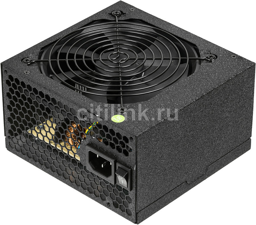Купить Блок питания ACCORD ACC-600W-80BR,  черный по выгодной цене в интернет-магазине СИТИЛИНК
