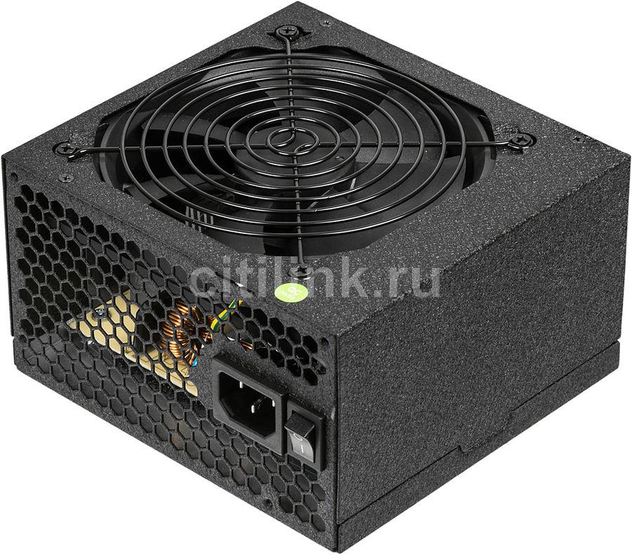 Блок питания ACCORD ACC-600W-80BR,  600Вт,  120мм,  черный, retail