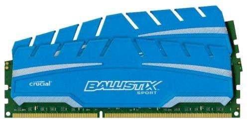Модуль памяти CRUCIAL Ballistix Sport XT BLS2C4G3D169DS3J DDR3 -  2x 4Гб 1600, DIMM,  Ret