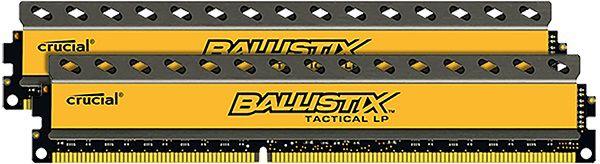 Модуль памяти CRUCIAL Ballistix Tactical BLT2C8G3D1608ET3LX0CEU DDR3 -  2x 8Гб 1600, DIMM,  Ret,  низкопрофильная