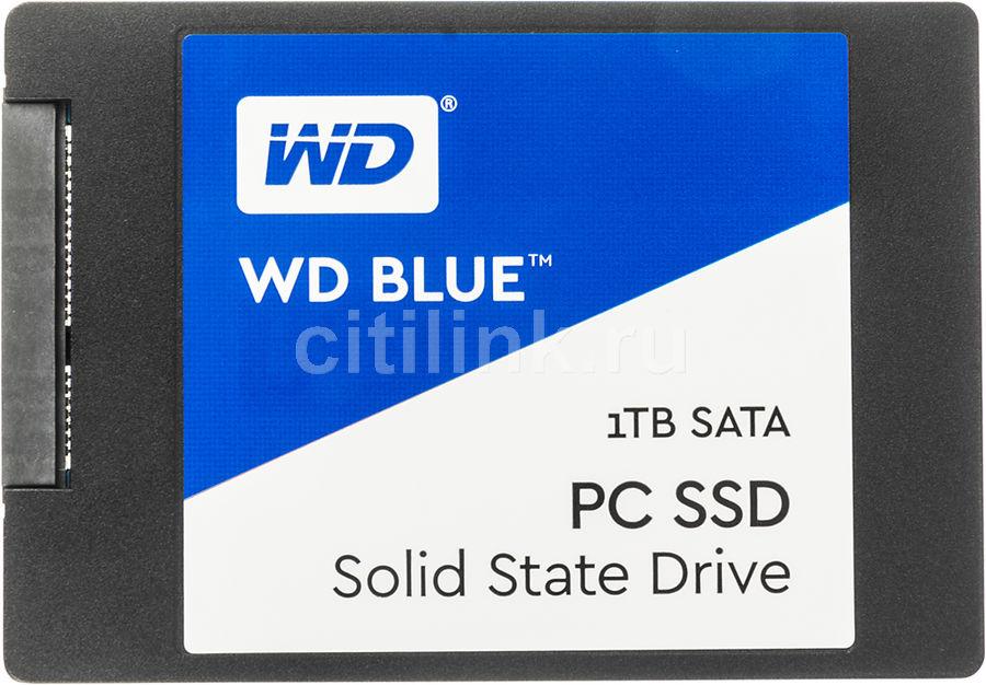 SSD накопитель WD WD Blue WDS100T1B0A 1Тб, 2.5