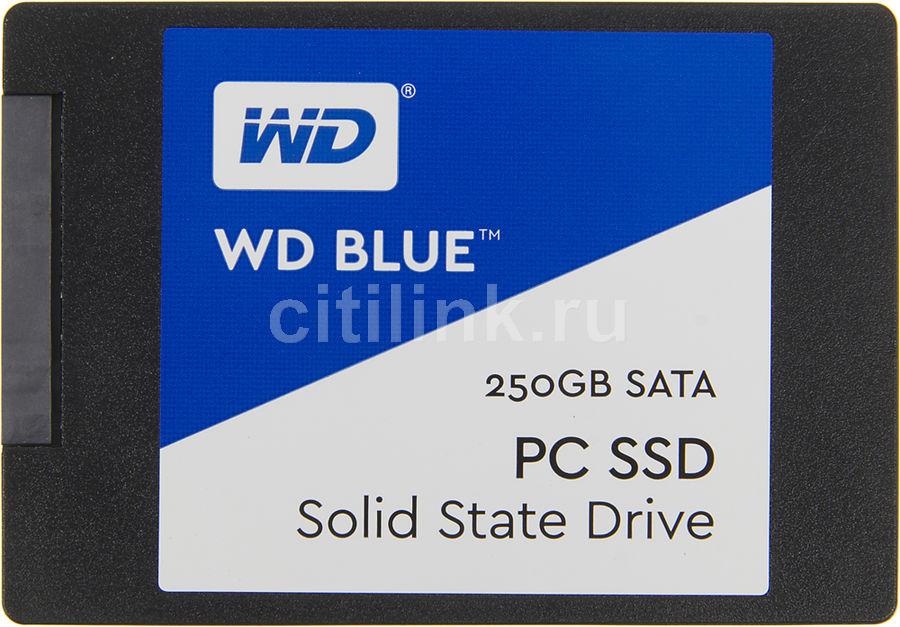 Накопитель SSD WD WD Blue WDS250G1B0A 250Гб, 2.5