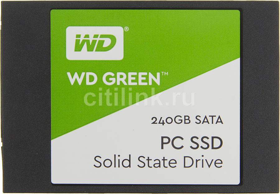 "SSD накопитель WD Green WDS240G1G0A 240Гб, 2.5"", SATA III"