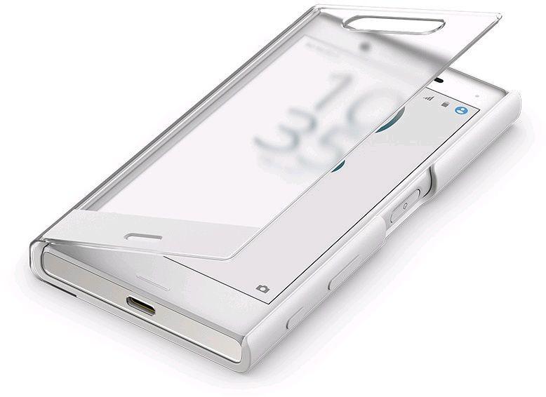 Чехол (флип-кейс) SONY Touch Cover, для Sony X Compact, белый [sctf20 white]