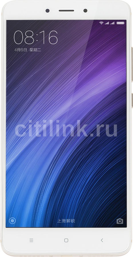 Смартфон XIAOMI Redmi Note 4 64Gb (Global version),  золотистый