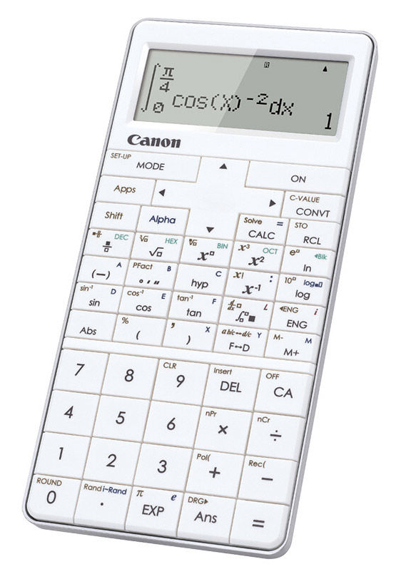 Калькулятор CANON X MARK I PRO,  15-разрядный, белый