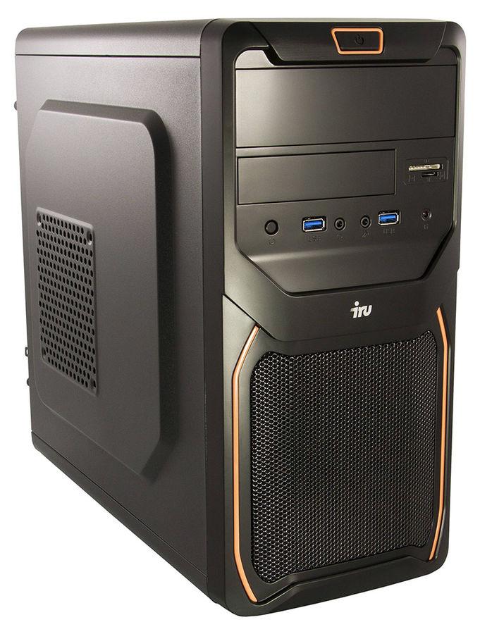 Компьютер  IRU City 719,  Intel  Core i7  6700,  DDR4 8Гб, 1Тб,  Intel HD Graphics 530,  Free DOS,  черный [405843]