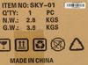 Корпус ATX ACCORD SKY-01, Midi-Tower, без БП,  черный вид 16