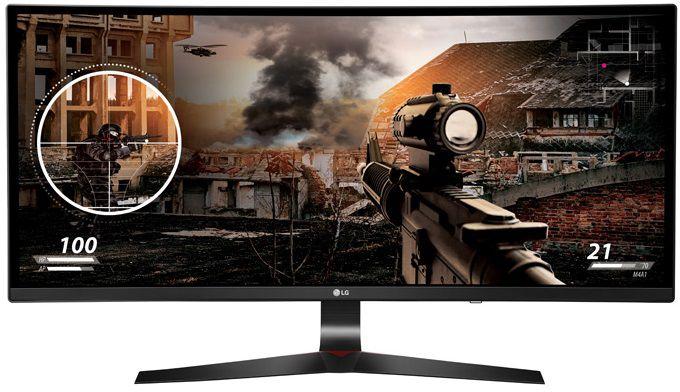 """Монитор игровой LG UltraGear 34UC79G-B 34"""" черный [34uc79g-b.aruz]"""