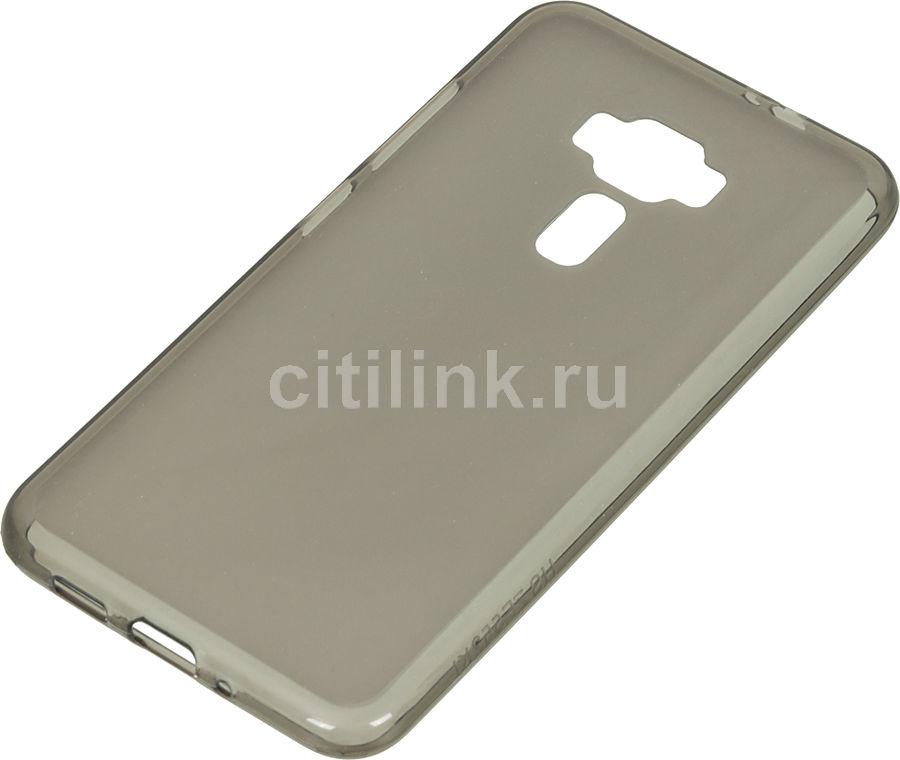 Чехол (клип-кейс) REDLINE iBox Crystal, для Asus ZenFone 3 ZE552KL, серый [ут000009310]