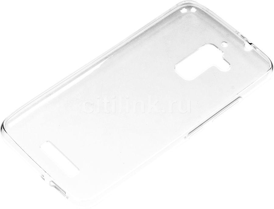 Чехол (клип-кейс) REDLINE iBox Crystal, для Asus ZenFone 3 Max ZC520TL, прозрачный [ут000009353]