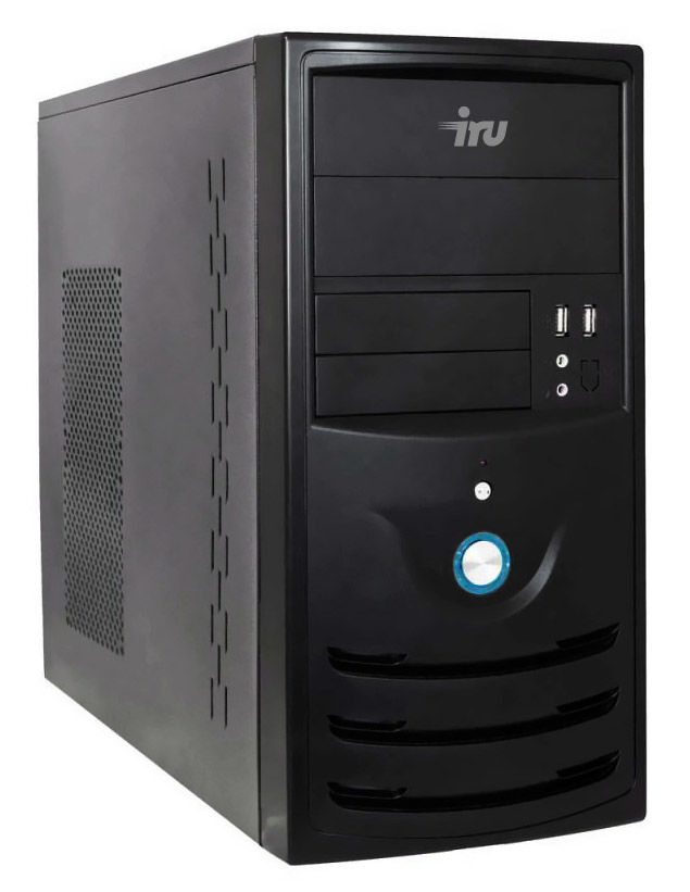 Компьютер  IRU City 319,  Intel  Core i3  4160,  DDR3 4Гб, 500Гб,  Intel HD Graphics 4400,  Windows 10 Home,  черный [405992]
