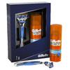Набор подарочный GILLETTE Fusion, Мужская Бритва Gillette Fusion + Гель для бритья Gillette Fusion Hydra gel увлажняющий, 75 мл [gil-81527534] вид 2