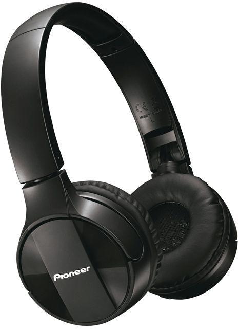 Гарнитура PIONEER SE-MJ553BT-K, мониторы,  черный, беспроводные bluetooth