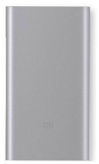 Внешний аккумулятор XIAOMI Mi Power Bank,  10000мAч,  серебристый [ndy-02-ansilver]