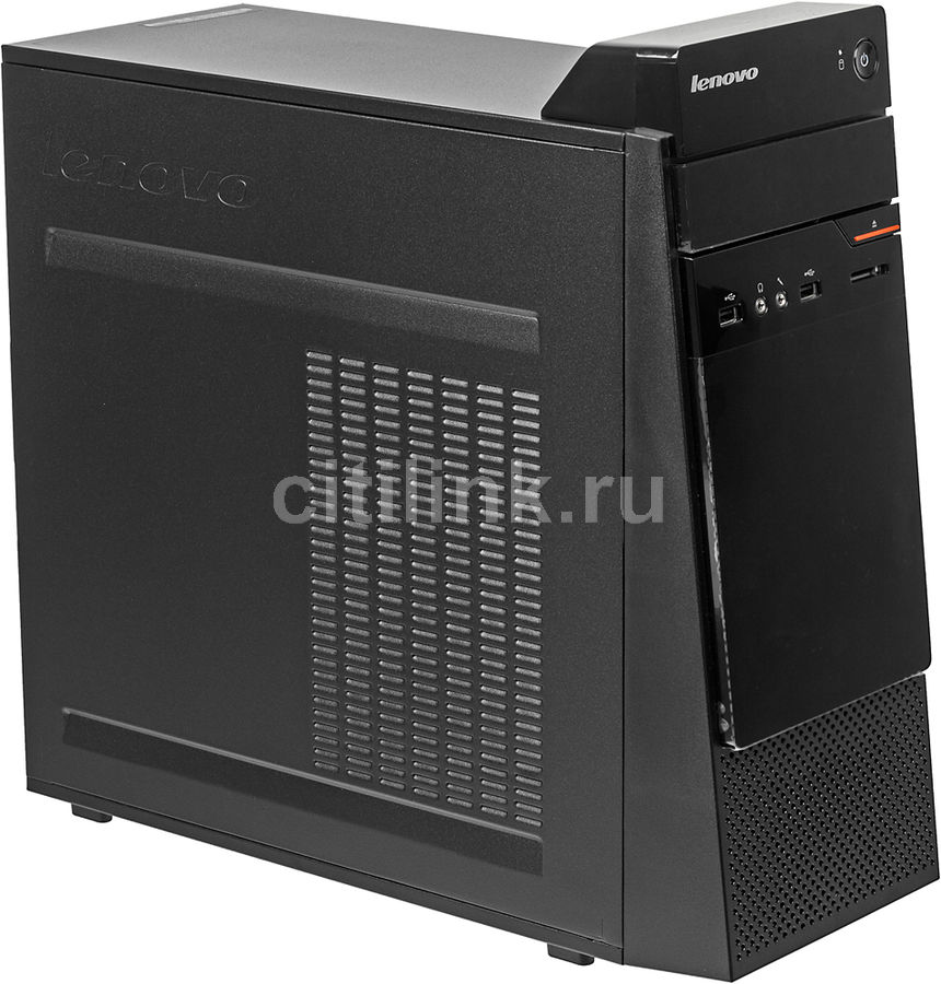 Компьютер LENOVO S200, Intel Pentium J3710, DDR3 4Гб, 500Гб, Intel HD Graphics 405, DVD-RW, CR, noOS, черный [10hq001fru]Компьютеры<br>процессор: Intel Pentium J3710; частота процессора: 1.6 ГГц (2.64 ГГц, в режиме Turbo); оперативная память: SO-DIMM, DDR3 4096 Мб 1600 МГц; видеокарта: Intel HD Graphics 405; HDD: 500 Гб, 7200 об/мин, SATA III; DVD-RW<br>