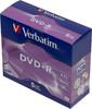 Оптический диск DVD+R VERBATIM 4.7Гб 16x, 5шт., 43497, jewel case вид 1