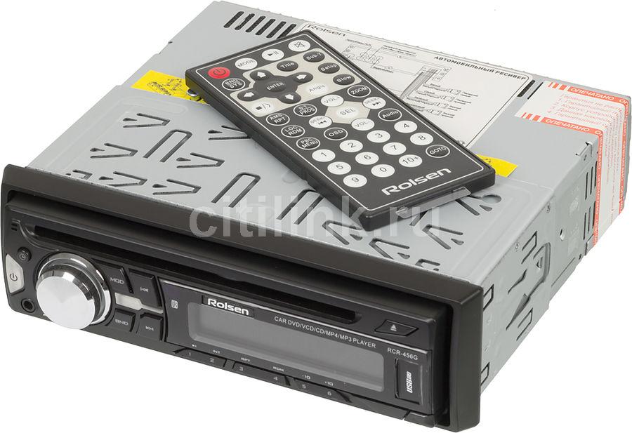 Автомагнитола ROLSEN RCR-456G,  USB,  SD/MMC
