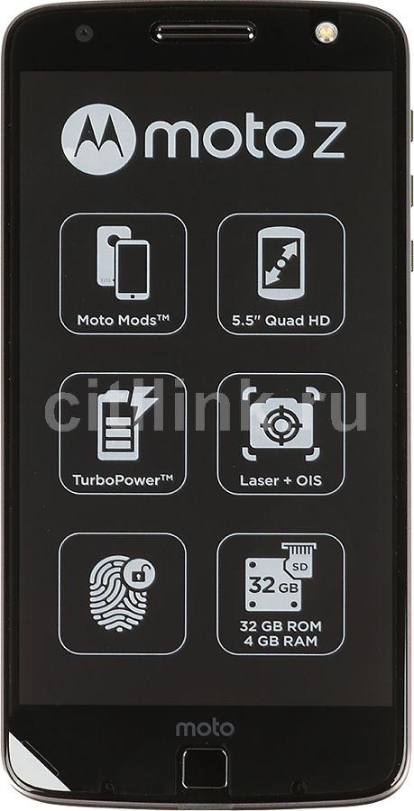 Смартфон MOTOROLA Z 32Gb,  черный/серый