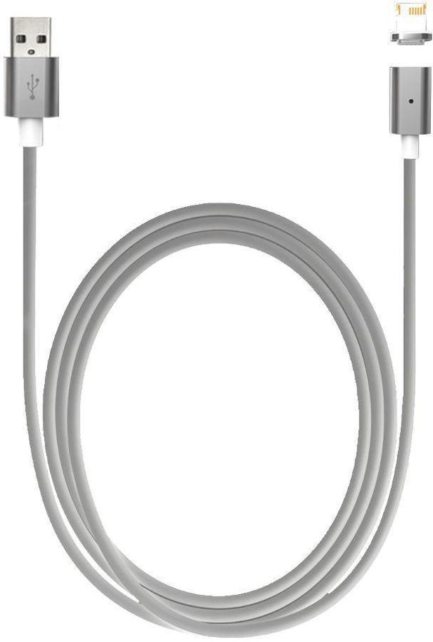 Кабель SMARTERRA QuickJack 2.0,  Lightning -  USB,  1.0м,  белый [strqjalwt]