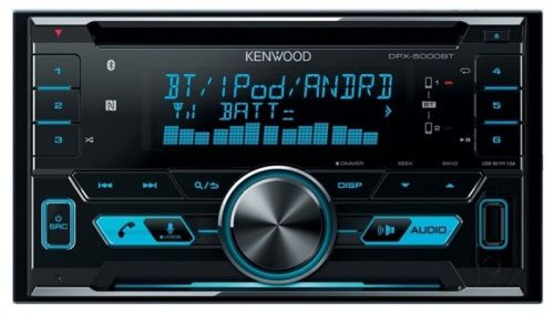 Автомагнитола KENWOOD DPX-5000BT,  USB