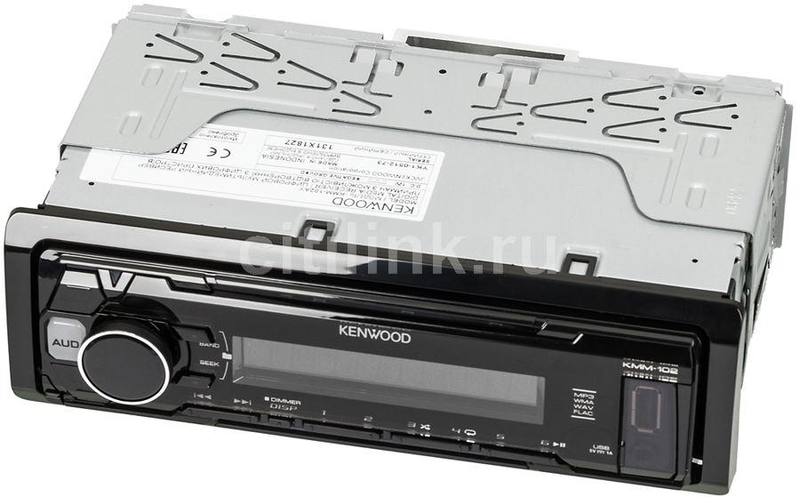 Автомагнитола KENWOOD KMM-102AY,  USB