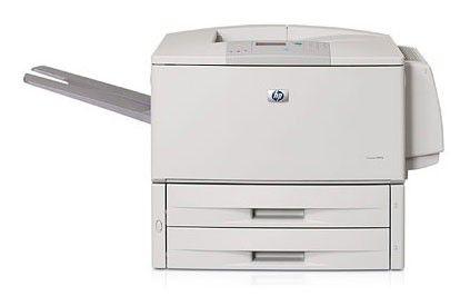 Принтер HP LaserJet 9050dn лазерный, цвет:  белый [q3723a]