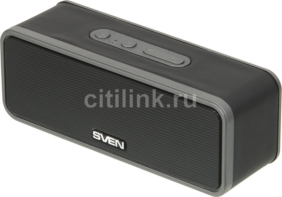 Портативные колонки SVEN PS-170,  черный